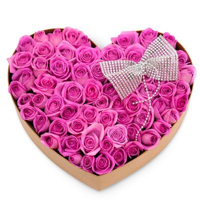 하트상자 꽃박스