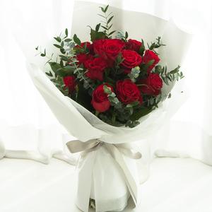 붉은천사 꽃다발